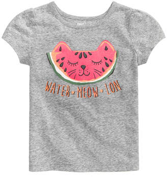 Epic Threads Watermelon Graphic-Print T-Shirt, Little Girls, Created for Macy's