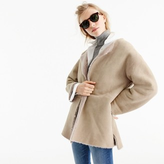 Reversible shearling jacket $895 thestylecure.com