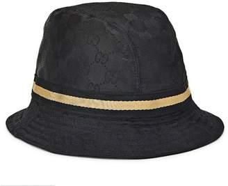8285fbf71a392 Gucci Black Original GG Canvas Bucket Hat