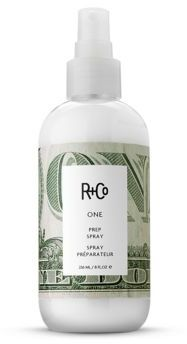 R+Co ONE Prep Spray/8.5 oz. $20 thestylecure.com
