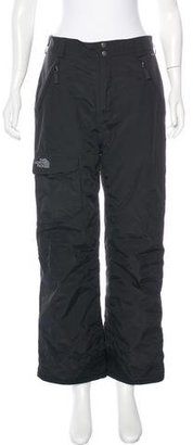 The North Face Wide-Leg Ski Pants $75 thestylecure.com