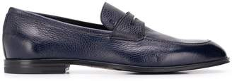 Bally classic grained loafers