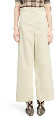 Toga Marine Wide Leg Corduroy Pants