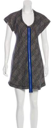 Derek Lam Virgin Wool Mini Dress