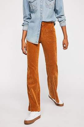 Hip Hugging Flare Cord Pants