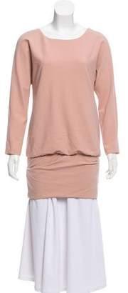 Jay Ahr Long Sleeve Open Back Tunic