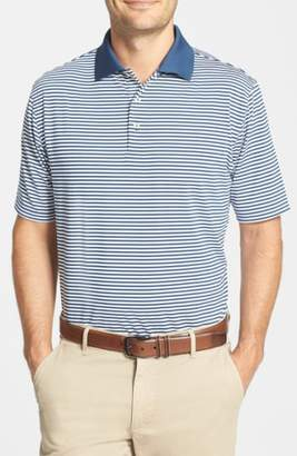 Peter Millar 'Competition' Stripe Stretch Microfiber Golf Polo