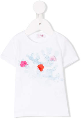 Il Gufo pom pom embellished T-shirt