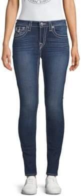 True Religion Curvy Flap Skinny Jeans