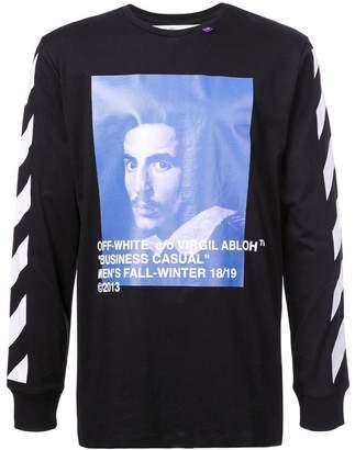 Off-White Gian Lorenzo Bernini print T-shirt
