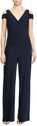 Lauren Ralph Lauren Cold Shoulder Jumpsuit $149 thestylecure.com