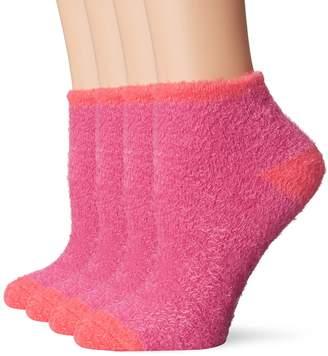 Dr. Scholl's Women's 2 Pack Shea Butter Low Cut Plush Socks
