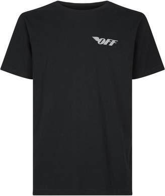 Off-White Off White Reflective Logo T-Shirt