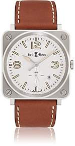 Bell & Ross Men's BRS-92 Heritage Watch-Camel