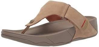 FitFlop Men's Trakk Ii Leather Flip-Flop