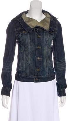 AllSaints Long Sleeve Denim Jacket