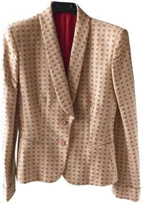 Bottega Veneta Gold Cotton Jacket for Women