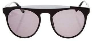 Cat Eye Smoke x Mirrors Atomic Tinted Sunglasses