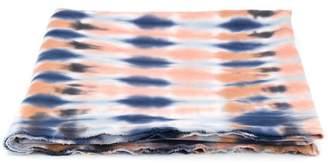 Raquel Allegra tie-dye pattern scarf