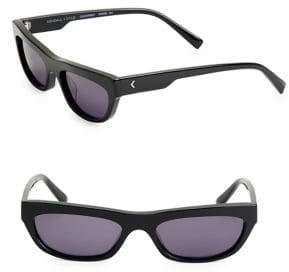 KENDALL + KYLIE 53MM Rectangular Sunglasses