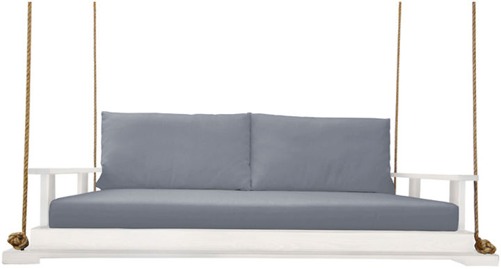 Southern Komfort Bed Swings Hampton Porch Swing, White/ Gray