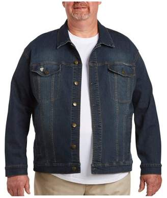 555 Turnpike Men's Big & Tall Denim Jacket
