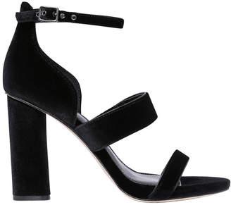 Vince Camuto Robeka Black Velvet Sandal