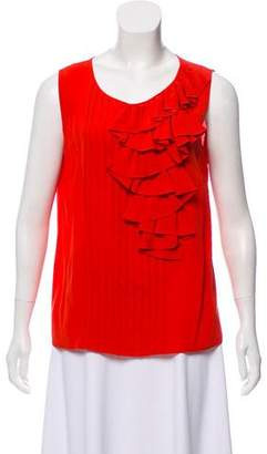 Derek Lam Silk Sleeveless Top