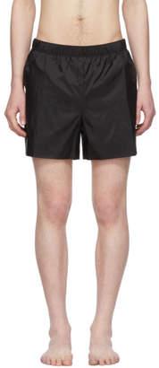 Acne Studios Black Warrick Swim Shorts