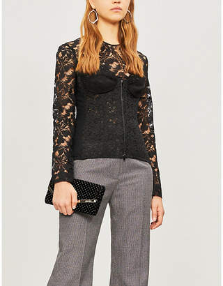 Stella McCartney Corseted lace top