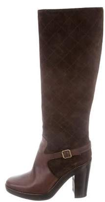 Michael Kors Suede Knee-High Boots