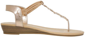 Miss Shop Misty Rose Gold Sandal