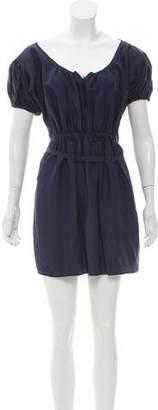 Prada Sport Short Sleeve Mini Dress