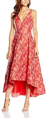 Badgley Mischka Belle Women's Valda Maxi Sleeveless Dress,8 (Manufacturer Size:4)