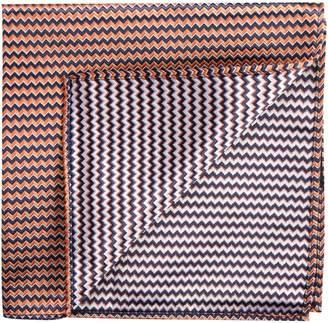 1670 Zigzag Pocket Square