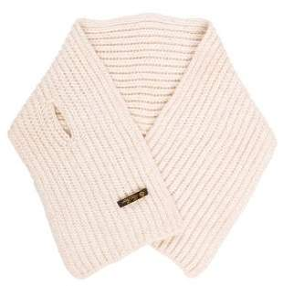 Loro Piana Metallic Rib-Knit Stole
