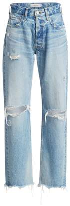 Moussy MV Odessa Wide Straight Leg Jeans