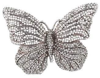 Valentino Crystal Butterfly Brooch
