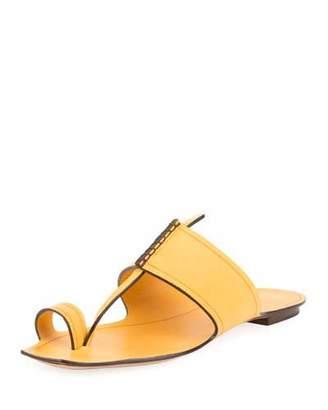 Chaussures Gc Nyree Anneau D'orteil Embelli Sandales Plates Sortie Nice j6E8lOBv