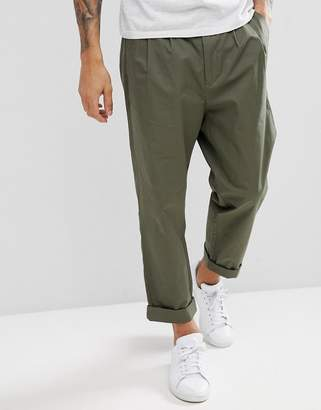 Kiomi Tapered Trouser with Double Pleat