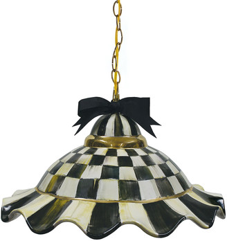 Mackenzie Childs Fluted Hanging Lamp
