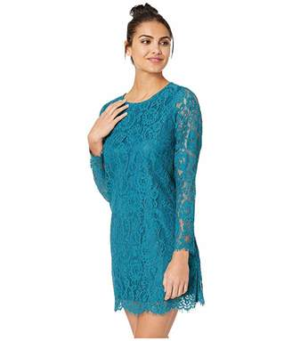 Kensie Winter Lace Dress KSDK8321