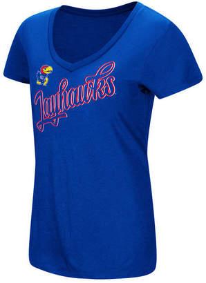 Colosseum Women's Kansas Jayhawks Big Sweet Dollars T-Shirt
