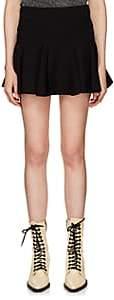 Chloé Women's Crepe Miniskirt-Black