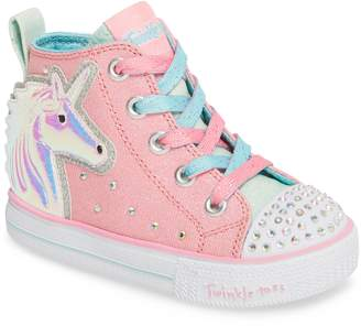Skechers Twinkle Toes Unicorn Light-Up Sneaker