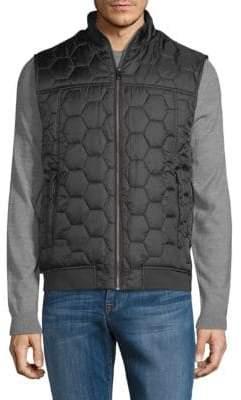 Honeycomb Quilted Vest