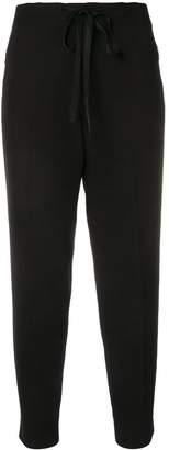Bottega Veneta drawstring cropped trousers