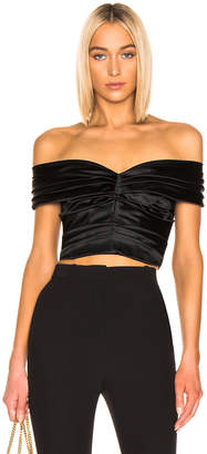 Dolce & Gabbana Ruched Top in Black | FWRD