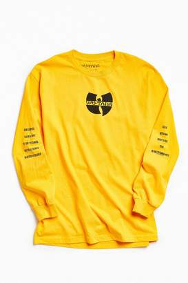 Urban Outfitters Wu-Tang Long Sleeve Tee