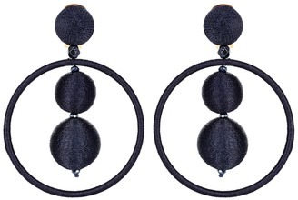 Oscar de la Renta Bauble drop earrings
